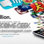 AppStore: raggiunti 1 miliardo di download