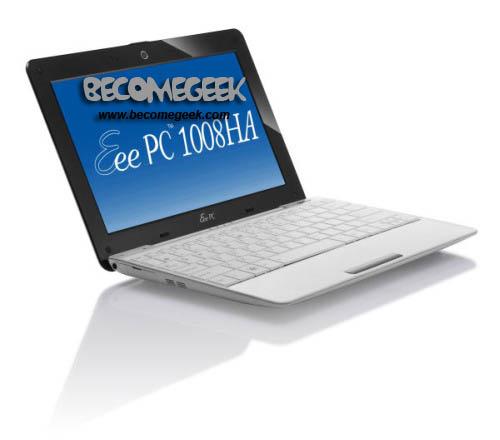 Eee PC 1008HA: il MacBook Air marchiato Asus