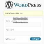 WordPress: personalizzare il pannello di controllo