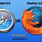 Nuovo record per FireFox, confronto con Safari