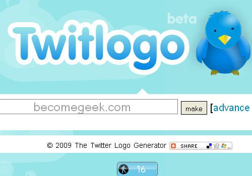 TwitLogo: creare una scritta in stile Twitter