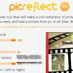 Generare immagini riflesse con Picreflet