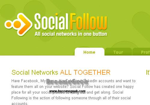 Riunire tutti i Social Network che usiamo in un unico account