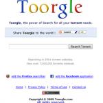 Toorgle: cercare file torrent con Google
