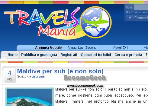 E' online un nuovo Social Network tutto italiano dedicato al Mondo dei viaggi