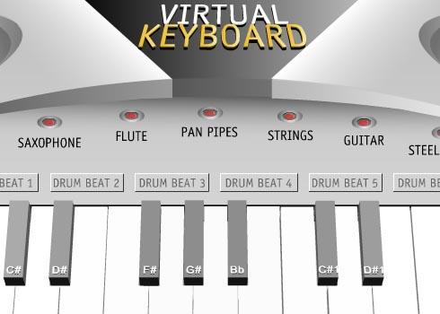 Virtual Keyboard: La tastiera elettronica virtuale