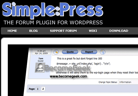Simple Press Forum: creare un forum con wordpress