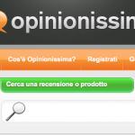 Opinionissima: opinioni su prodotti, servizi e siti web