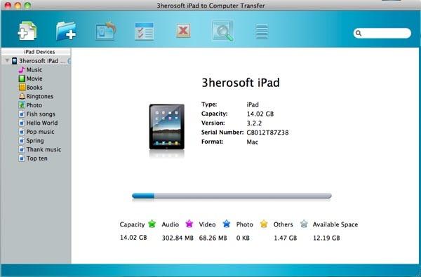 spostare files da iPad su Mac