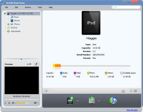 ImTOO iPad Mate