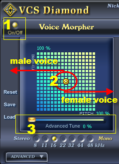 Voice changer software 7.0 tutorial 10 - 01