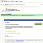 Riconoscere Email False (pishing) da Facebook