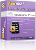 Tansee iPhone Transfer Contact