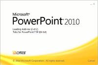 Microsoft PowerPoint start screen