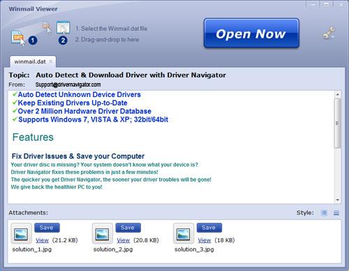 Open Winmail