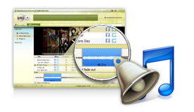 Create ringtones from your playlist