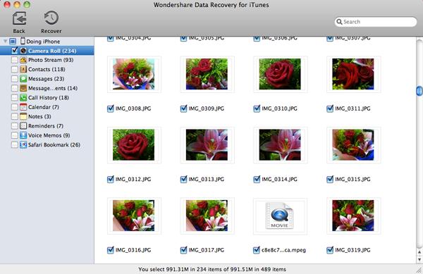 recover iphone photos