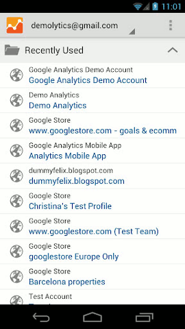 google-analytics-android-accounts