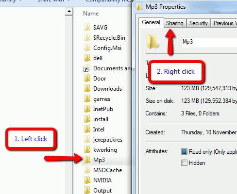 How To Share A Folder in Windows