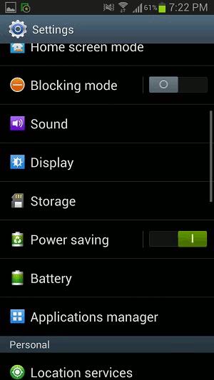 Come disattivare Apps su Android