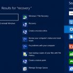 Creare unità USB di ripristino per Windows 8