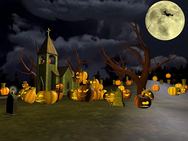 Halloween Screensaver da scaricare