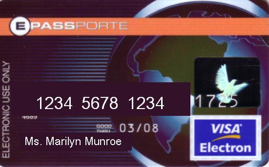 [Sett. 2010] ePassporte: Sospensione carte VISA