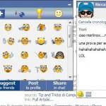 Emoticons e Faccine per Facebook