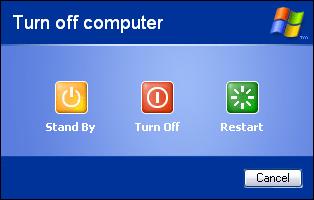 [Windows XP] Spegnere il PC velocemente da icona desktop