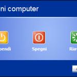 [Windows XP] Spegnere il PC salvando tutte le operazioni sul desktop