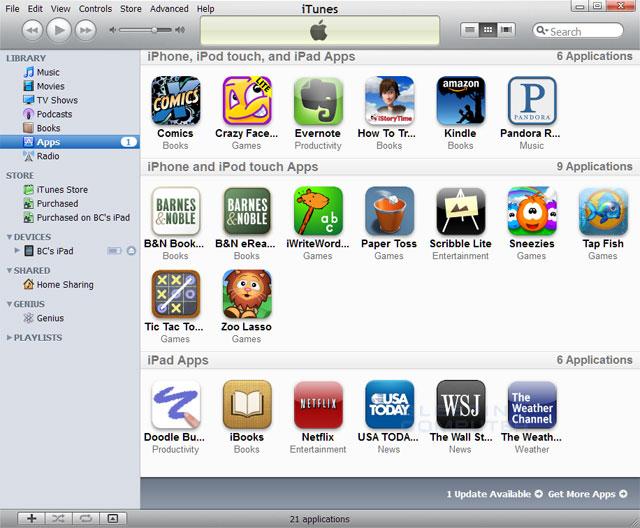 Rimuovere applicazione da iPad, iPhone e da libreria iTunes