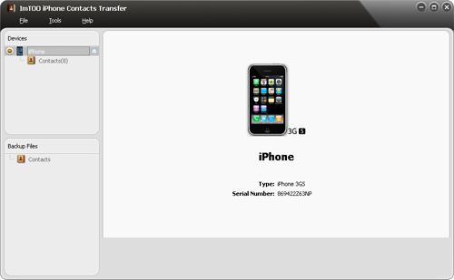 Estrarre ed Esportare Contatti iPhone in CSV