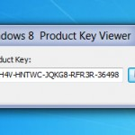 Recuperare Product Key di Windows 8