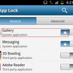 Come usare Applock per proteggere accesso ad applicazioni
