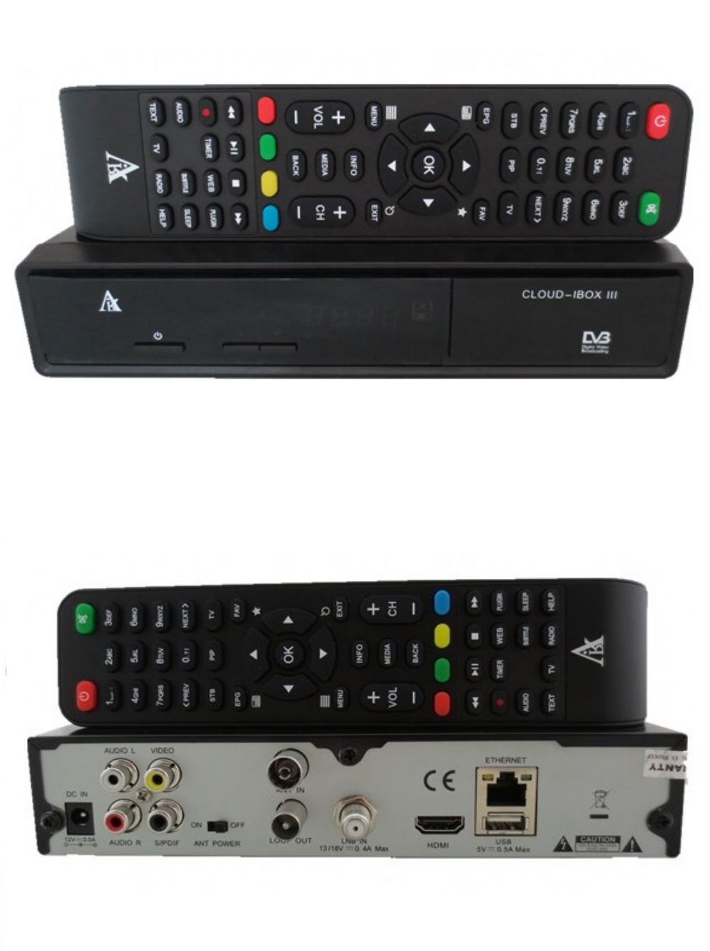 Cloud iBox 3 decoder