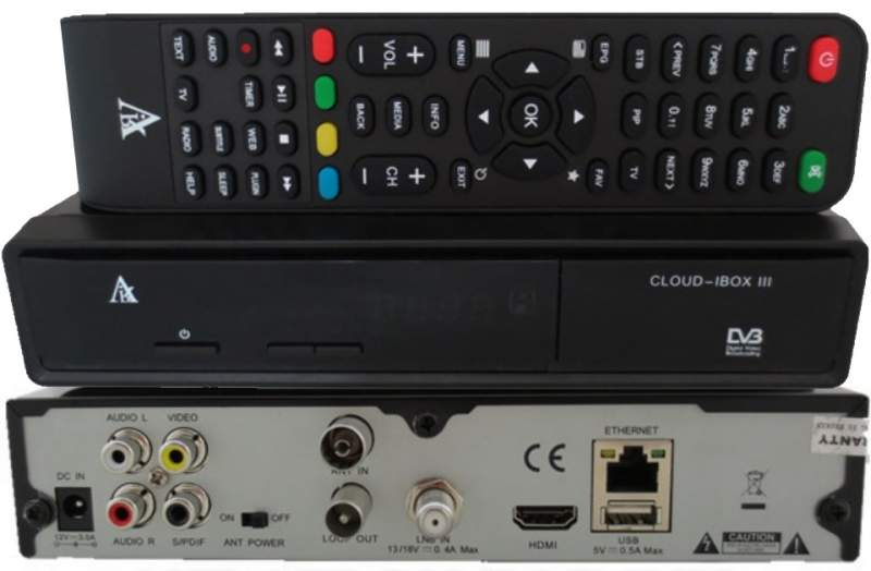Decoder Alternativo: Cloud iBox 3 V2