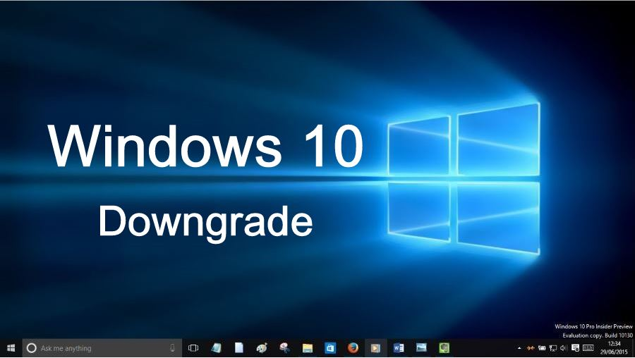 Come Passare da Windows 10 a Windows 8