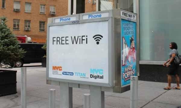 New York e la connessione WiFi gratuita più grande al mondo