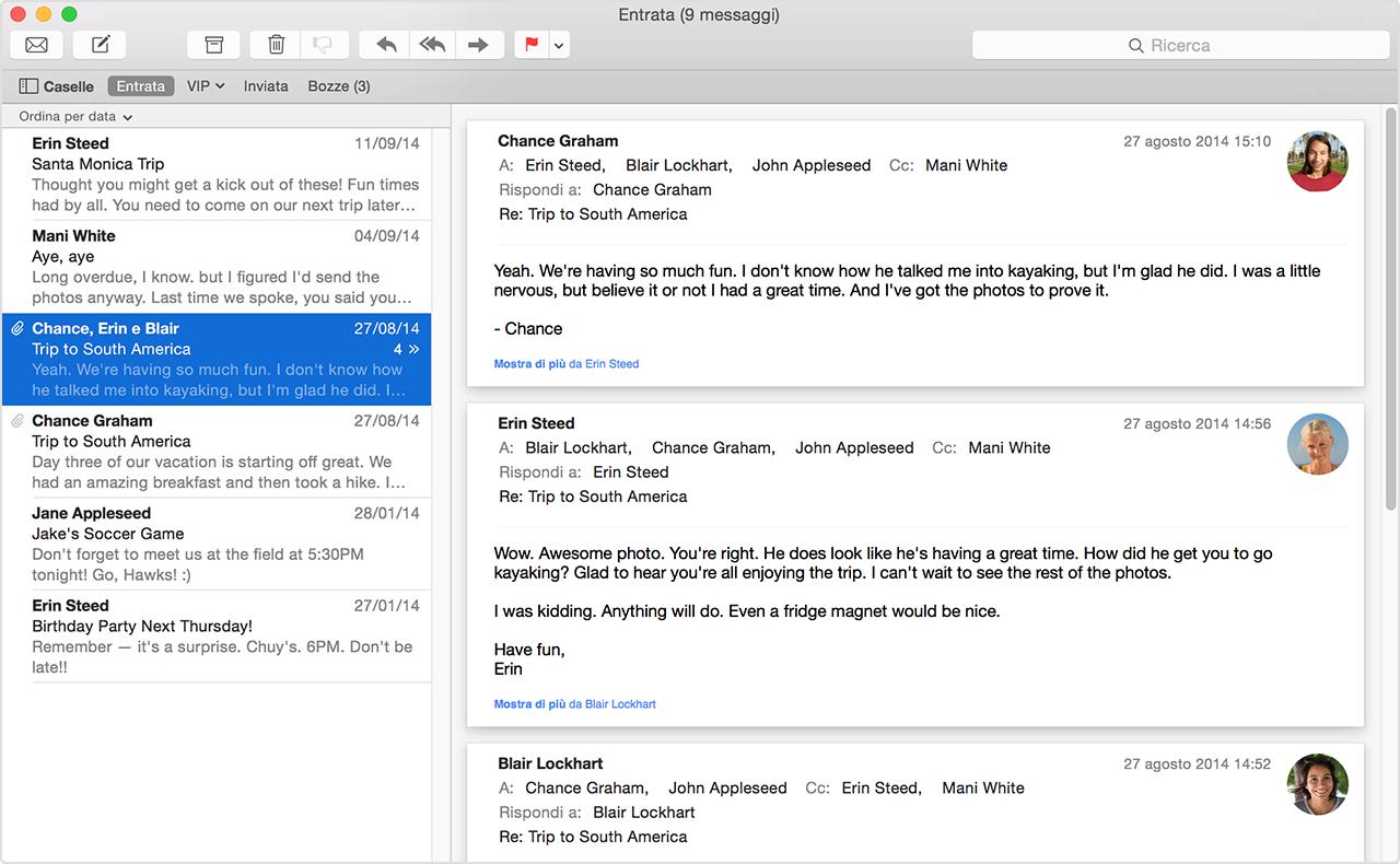 Come Disabilitare Suggerimenti Contatto nella Mail di OSX