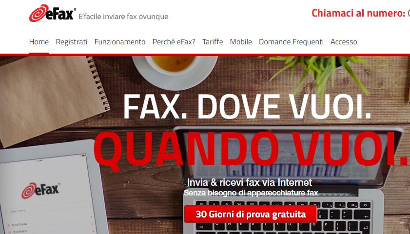 eFax, l'app per inviare fax con l'iPhone