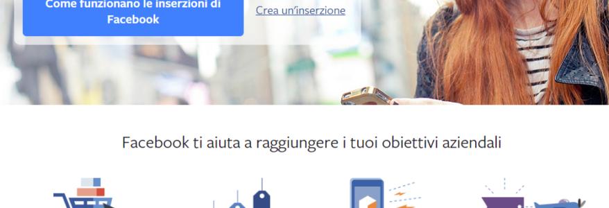 Come fare pubblicità su Facebook con inserzioni
