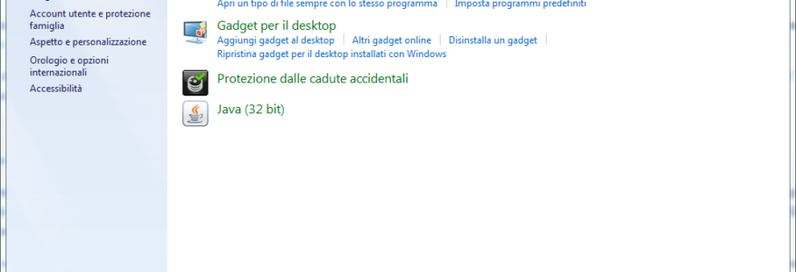 Come accedere a sezione Programmi e Funzionalità in Windows 10