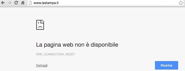 Impossibile accedere ad un sito web: cause e possibili soluzioni
