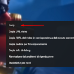 Come eseguire video di YouTube in loop automaticamente