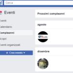 Come scoprire i prossimi compleanni degli amici su Facebook