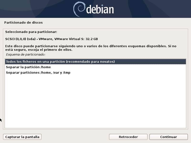 Installa Debian - 16