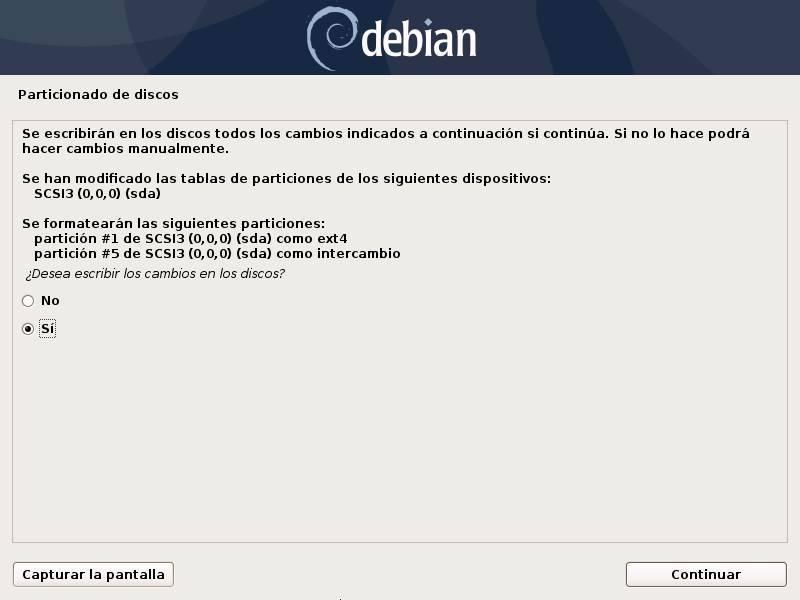 Installa Debian - 18