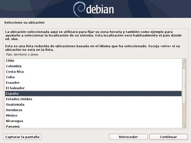 Installa Debian - 3