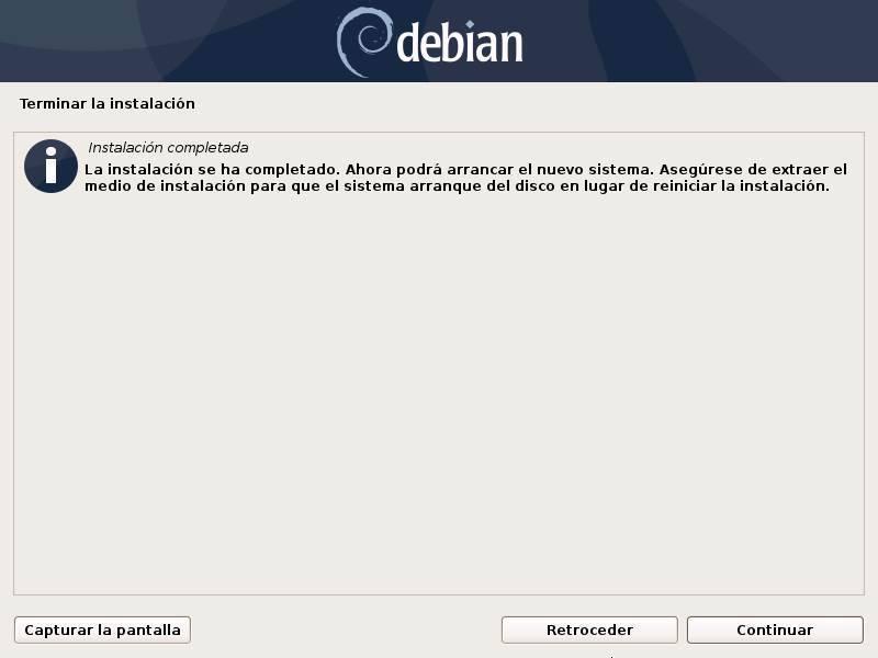 Installa Debian - 32