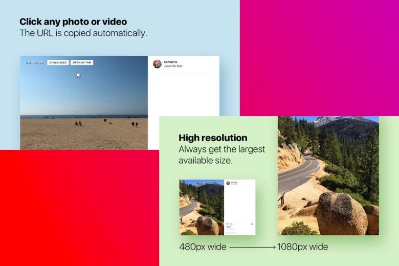 "Scarica le foto di Instagram ""class ="" wp-image-1303650 ""/> </noscript></figure><p><strong> <a href="